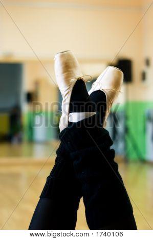 Dance Shoes Upside
