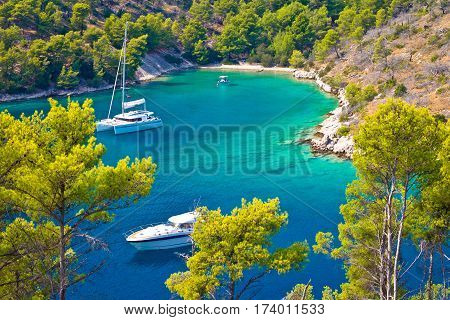 Secret Turquoise Beach Yachting And Sailing