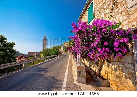 Village Of Lozisca On Brac Island Street View