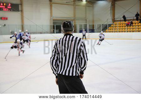 Hockey Referee Control
