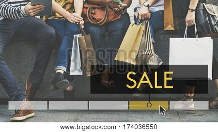 Purchase Sale Discount Fashion Style poster