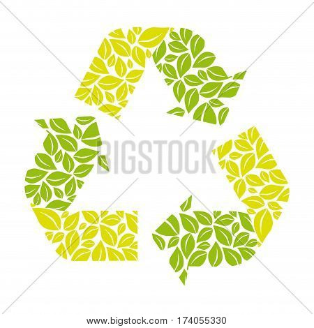 symbol reuse, reduce and recycle icon, vector illustraction design