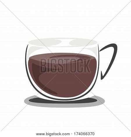 hot mocha coffee , coffee icon set