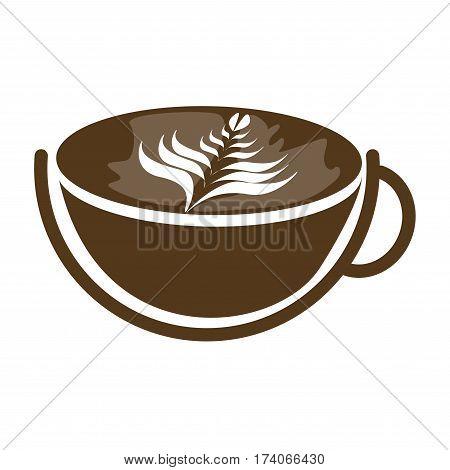 hot latte ,coffee icon set , coffee