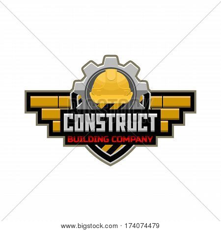 Construct logo construction working industry concept .
