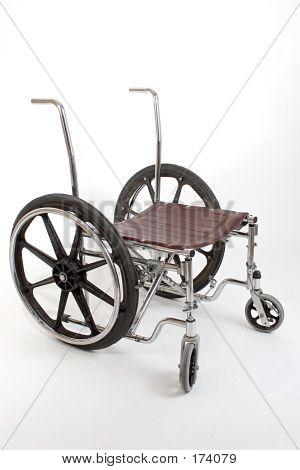 Broken Down Wheelchair