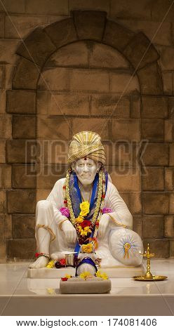 Sai Baba of Shirdi was an Indian spiritual master who was and is regarded by his devotees as a saint fakir and satguru. On October 15 1918 before his death he said