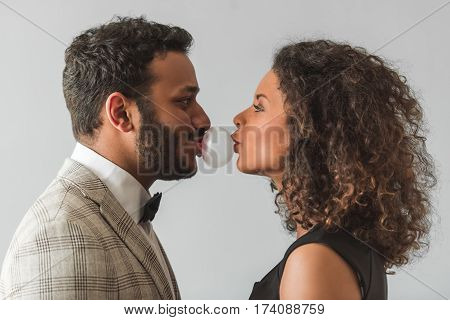 Beautiful Afro American Couple