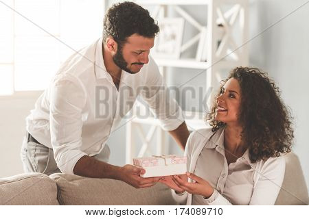 Happy Afro American Couple