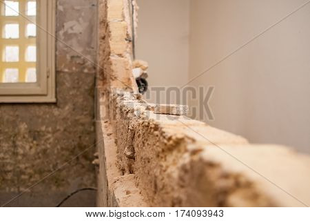 Flat Renovation, Demolition Of The Partition Wall To Create A Single Larger Room