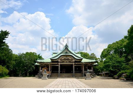 Hokoku Shrine Is A Shinto Shrine Built In Honor Of Toyotomi Hideyoshi For People Pray And Visit