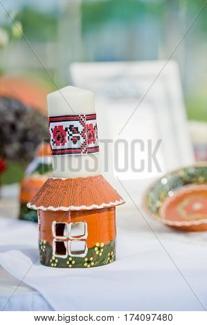 beautiful wedding decorations in national style decoration