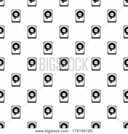 Vinyl pattern. Simple illustration of vinyl vector pattern for web