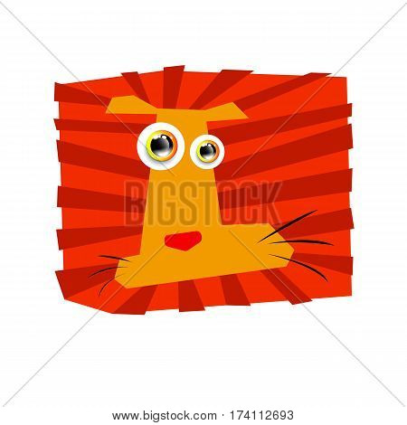 lion vector wild illustration animal safari mammal design cat feline