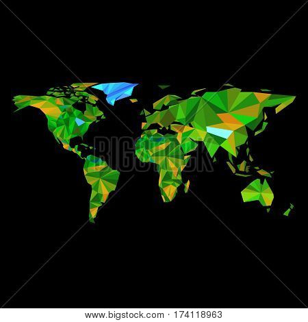world earth vector travel illustration geography map australia africa asia planet