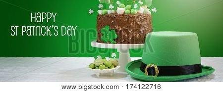 Happy St Patricks Day Social Media Banner