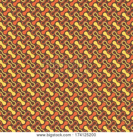 Seamless bright multicolor fun abstract modern pattern