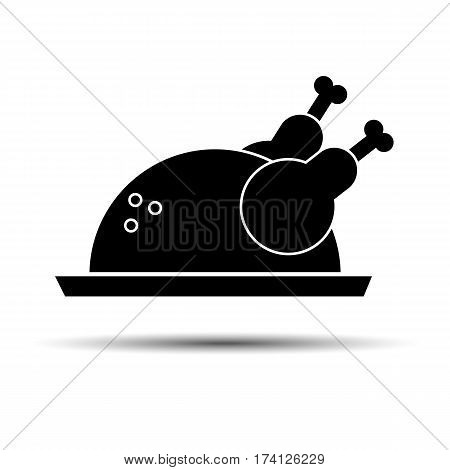 Cooked Chicken Food Vector Photo Free Trial Bigstock
