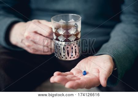 A Pill In Someone's Hand