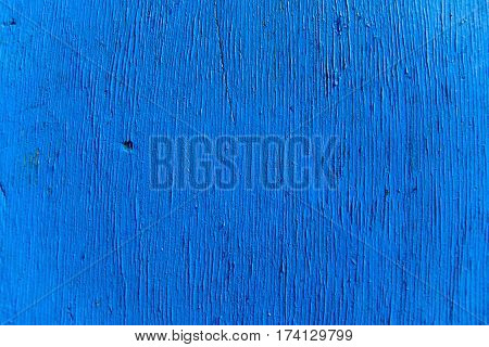 Blue filter - realistic natural wood texture for Background.