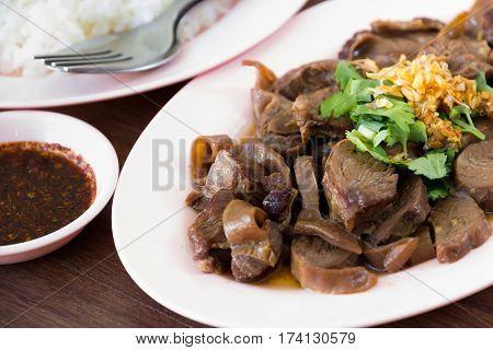 Rice Braised Pork