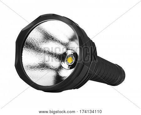 Flashlight, isolated on white background