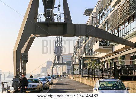 Historic Harbor Cranes