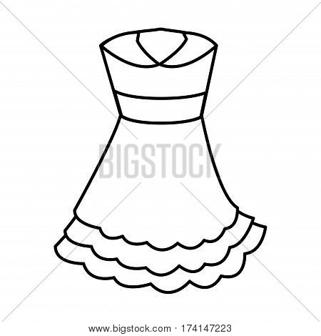 Typical spanish costume icon vector illustration design