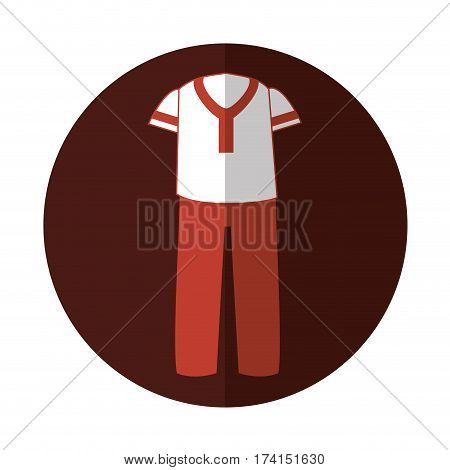 Latin typical costume male vector illustration design