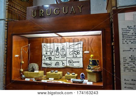 Santo Domingo, Dominican Republic - January 30, 2016: Museum Inside The Lighthouse Of Christopher Co
