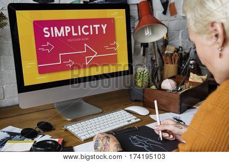 Simplicity Minimal Modern Normal Word