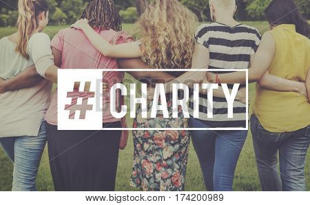 Charity Giving Hope Support Care