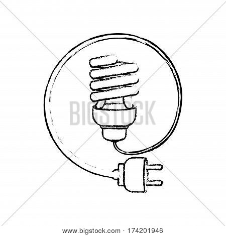 Spiral bulb symbol icon vector illustration graphic design