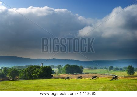Antietam Battlefield Panorama