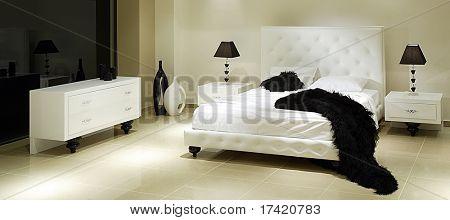 baroque hotel room