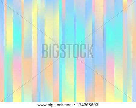Holographic Lines Background Pastel Smooth Wallpaper 2