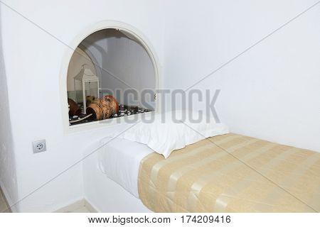 Apartment in the luxury hotel Santorini island Greece