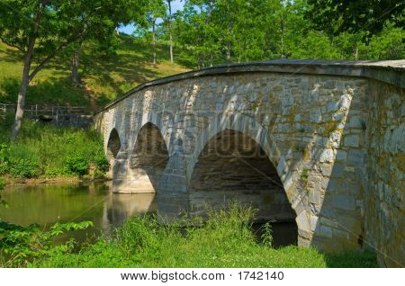 Burnside Bridge From Creekside