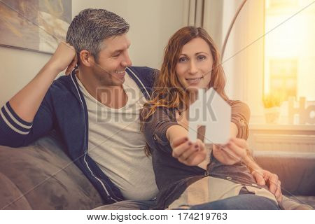 couple planning buying new real estate