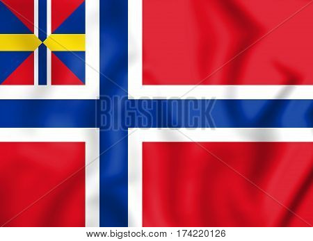 Norge-unionsflagg-1844