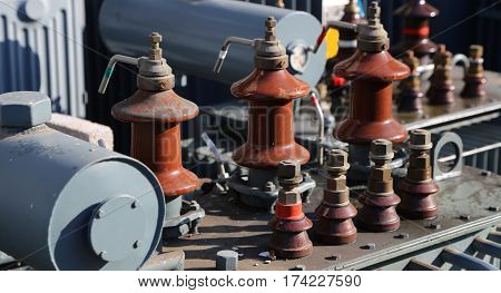 Ample Storage Of Old Voltage Transformers Used In Substations