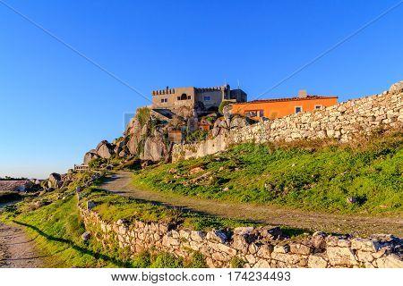 The Santuario da Peninha and Palace, Sintra, Portugal