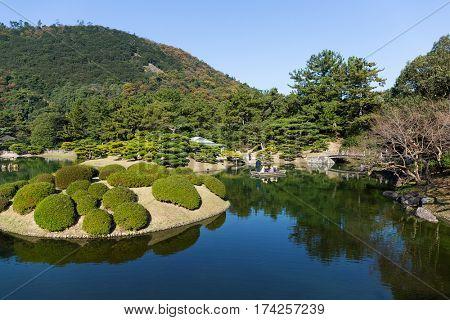 Japanese Kokoen Garden