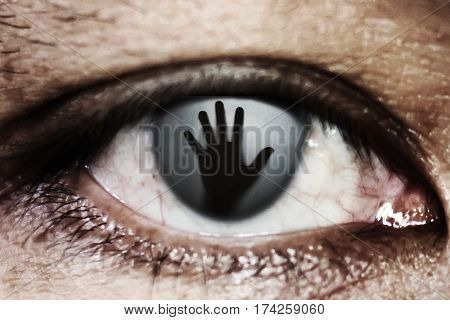 Hand Of Woman In The Twinkling Of An Eye