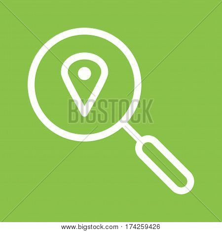 Location, ipad, business icon vector image. Can also be used for business administration. Suitable for mobile apps, web apps and print media.
