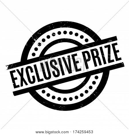 Exclusive Prize rubber stamp. Grunge design with dust scratches. Effects can be easily removed for a clean, crisp look. Color is easily changed.