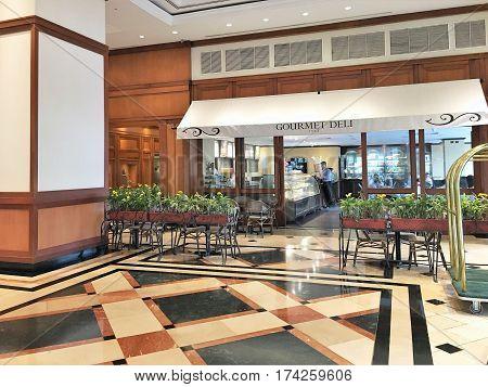 Oro Verde Hotel Lobby Cafe