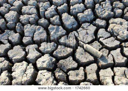 Cracked Dried Ground