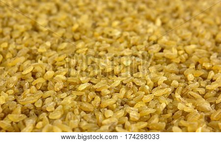 Portion of Bulgur for use as background image or as texture