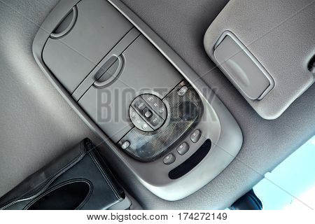 The light switch in the car easy to use